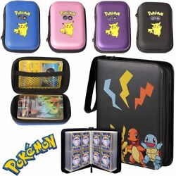 Tomy 50pcs Capacity Pokemon Tcg Card Storage Bag Pokemones Game Pokmon Card Stor