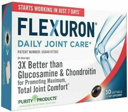 Flexuron Joint Formula By Purity Products 30gels Free Shipping