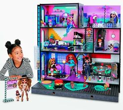 Lol Surprise Omg Doll House Real Wood 85+ Surprises 3 Story 6 Rooms Moving Truck