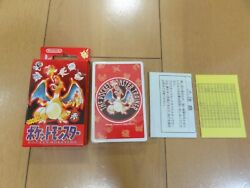 Pokemon Playing Cards Red 1995 Very Rare Charizard
