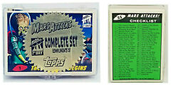 1994 Topps Mars Attacks Archives 1st Day Parallel Set 55 Promo Rare