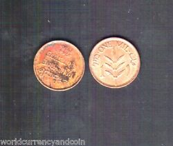 Palestine 1 Mil Km-1 1944 First Bronze Coin Scarce Date X 1 Pce Arab Middle East