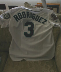 1995 Seattle Mariners Alex Rodriguez Rookie Game-used Home Jersey - Loa 0287