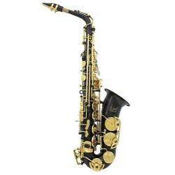Brass Engraved Eb E-flat Alto Saxophone Sax Abalone Shell Buttons With Case