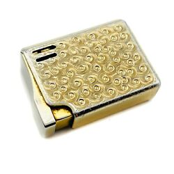 Vintage And Collectible Colibri Lighter - Made In Japan - Gold Color - 1.7 Length
