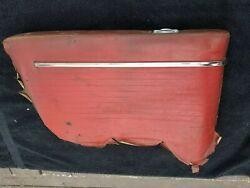 🔥1963-1964 Impala Ss 2dr Ht Left Rear Armrest Panel Solid W/ Trim And Ashtray🔥