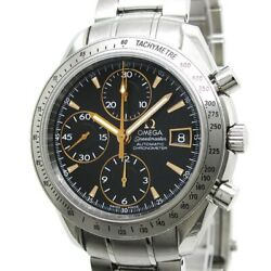 Free Shipping Pre-owned Omega 3211.50 Speedmaster Date Japan Limited Model