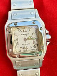 Santos Steel Womenand039s Watch Great Santos 2423 Automatic