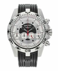 Eberhard And Co. Chrono 4 Automatic 46mm Stainless Steel Menand039s Watch 31060