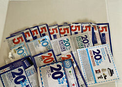 Lot Of 19 Bed Bath And Beyond Assorted Coupons 5, 20, 10 Off