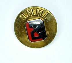 Authentic Wwii New Mexico Military Institute Collar Disc Nmmi Cadet Academy