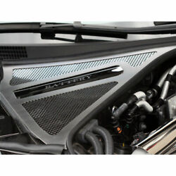 Battery Cover/brake Fluid Cover 4p For 10-13 Nissan Gt-r [stainless/perforated]