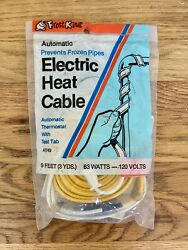 Frost King Electric Heat Cable 9 Ft