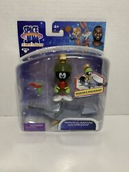 2021 Space Jam A New Legacy Marvin Trhe Martian With Spaceship 5 Inch Fig. New