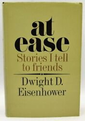 At Ease, Stories I Tell To Friends Dwight D. Eisenhower Signed 1st Ed