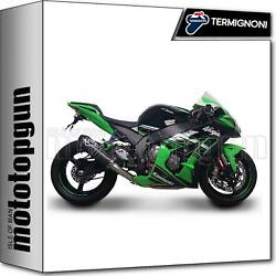 Termignoni Full System Exhaust Relevance Carbon Racing Kawasaki Zx-10r 2017 17