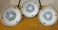 3 In Lot Noritake Progression Blue Moon Fruit Bowl 9022 Discontinued
