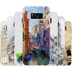Dessana Italy Painting Silicone Protection Cover Case Cell Phone For Samsung A J