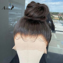 13x6 Lace Front Human Hair Wigs Invisible Pre Plucked Body Wave Lace Wig Women
