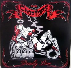 Tray Rare Edition Limited Obsolete Lp The Chop Tops Deadly Love Neo-rockabilly