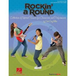 Hal Leonard Rockinand039 A Round Collection Of Upbeat Rounds Classroom Performance Cd