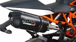 Ktm Rc125 Rc200 2014/16 Furore Nero Italian Made. Road Legal By Gpr Silencer