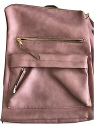 pink backpack womens purse $13.00