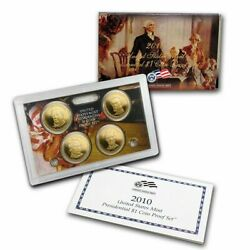 2010 Us Mint Presidential 1 Coin Proof Set W/ Box And Coa
