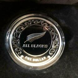 2019 All Blacks Silver Rugby World Cup Specimen Item Exclusive Box Clear Case