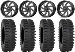 Msa Milled Switch 20 Wheels 33 Xt400 Tires Can-am Renegade Outlander