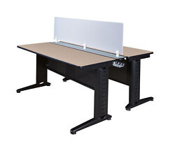 Fusion 72 X 24 Benching System With Privacy Panel