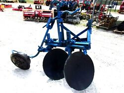 Used 2 Bottom Disc Plow 3 Pt. Free 1000 Mile Delivery From Ky