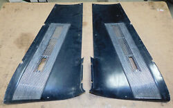 1967 1968 Mustang Gt Shelby Orig Fastback Lh And Rh Vent Sail Panels With Grilles