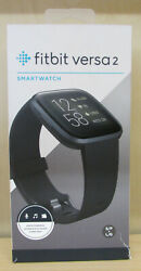 Brand New Fitbit Versa 2 Smartwatch Small And Large Bands Included 123