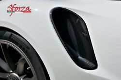 Porsche 911 991.1 Gt3 Rs - Turbo Carbon Fiber Side Scoops Air Intakes