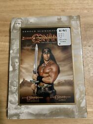 Conan The Complete Quest - Barbarian And Destroyer Dvd, 2008, 2-discnew Rare