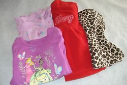 Girls Clothes Lot Of 4 Items Size 24 Months Tops/ Pants