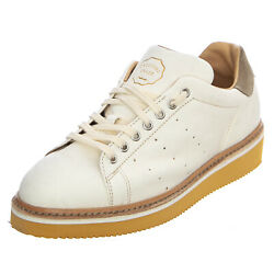 Original Grade Matchpoint Leather Shoes - White - Shoes Outline Bottom Man