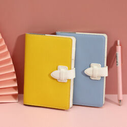 Cute Mini Pocket Pu Leather Journals Notebook Paper Diary Planner Books Records