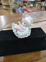 Precious Moments 2013 Baby's First Christmas Ornament 131005