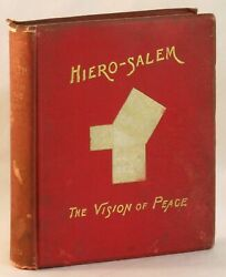 E L Mason / Hiero-salem The Vision Of Peace Fiction Founded On Ideals 263168