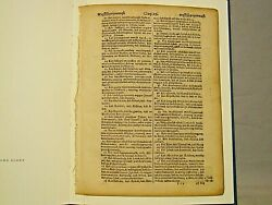 A Testament Of Faith. A Leaf From The First American Bible 1663 Limited 87 Only