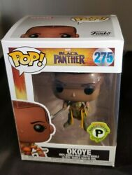 Funko Pop Black Panther Okoye 275 Limited Popcultcha Exclusive + Protector