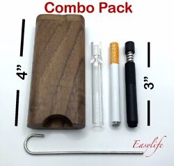 Wood Dugout 4 With 3 Self Cleaning One Hitter 3andrdquoglass And 3andrdquo Metal One Hitter