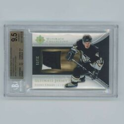 Sidney Crosby 2005-06 Ultimate Rookie Jersey Patch /75 Bgs 9.5 Pop 3 Game Used