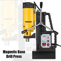 1200w Magnetic Base Drill Press 23mm Boring 13500n Magnet Force Quality Tapping