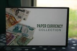 Unikeep Paper Currency Collection Case Album Holder 25 Pages Note Money Banknote