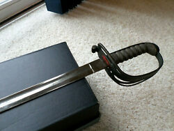 Authentic Civil War Union Officer's Sword Blade Forged By Solingen Of Germany
