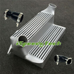 7.5 Stepped Racing Intercooler + Silicone Couplers For Bmw 135 335i 335xi 3.0l