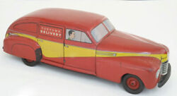 Toytown Delivery Wy-1010 Vintage Car Toy 1941